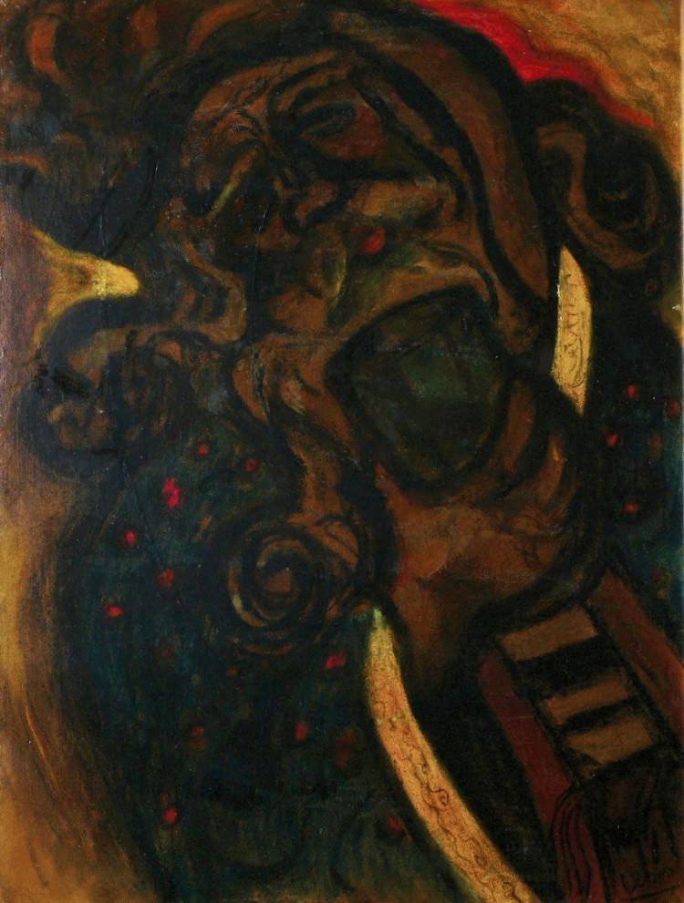 Maryan (Pinchas Burstein), 1927-1977, Figure