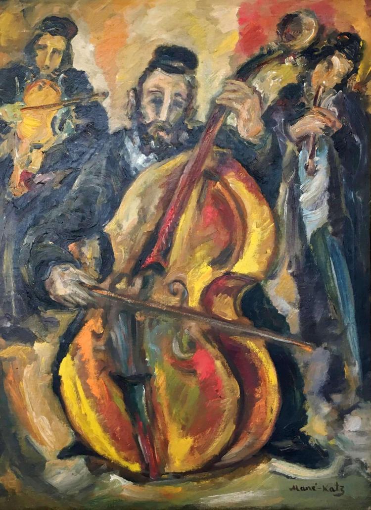 Mane-Katz, 1894-1962, Musicians