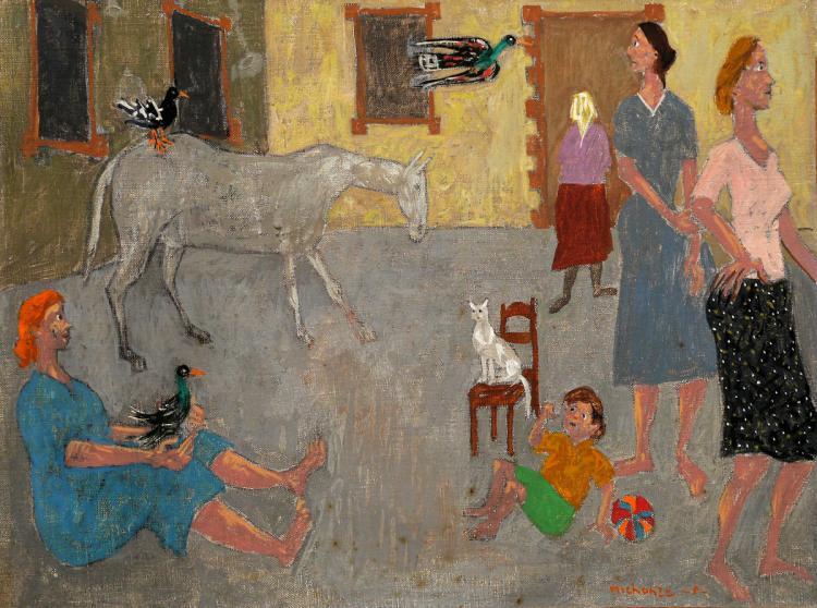 Gregoire Michonze, 1902-1982, Figuers and Animals