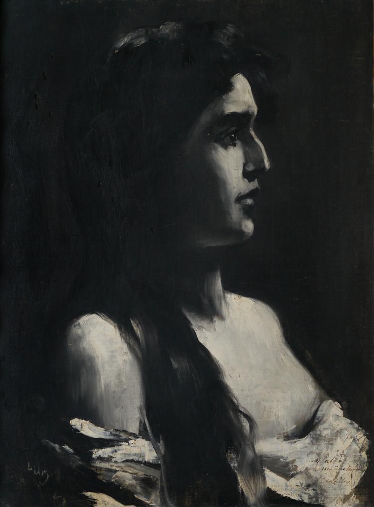 Lesser Ury, 1861-1931, Deborah