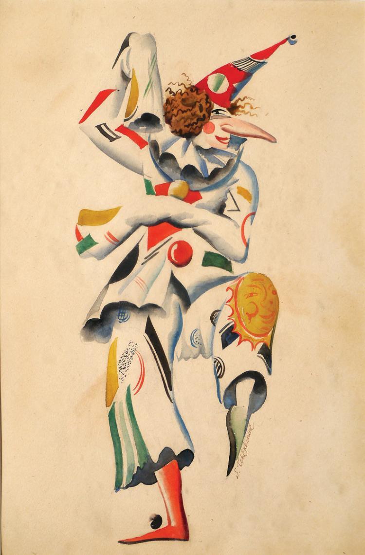 Sergei Vasil'evic Chekhonin, 1878-1936, Costume Design