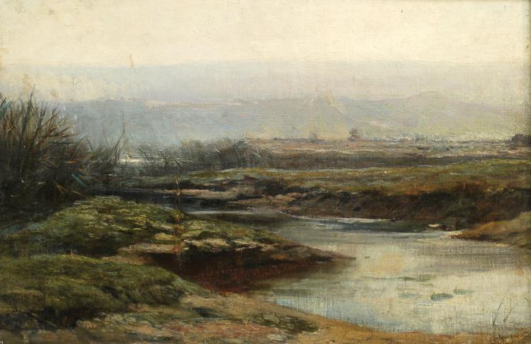 Paul Camile Guigou, 1834-1871, Landscape