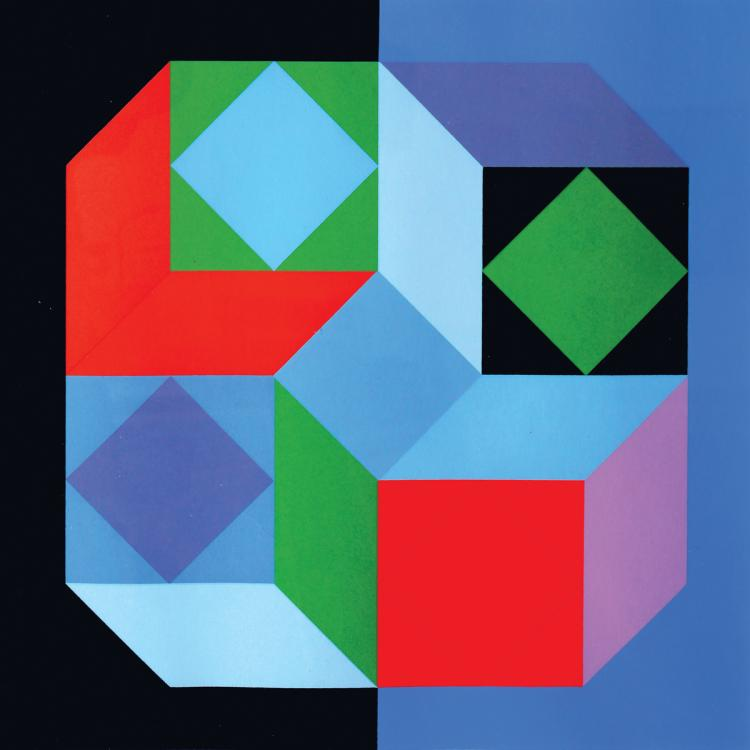 Victor Vasarely, 1906-1997, Composition