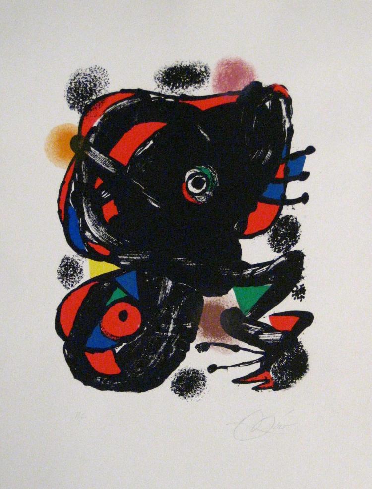 Joan Miro, 1893-1983, XXe Siecle, 1976