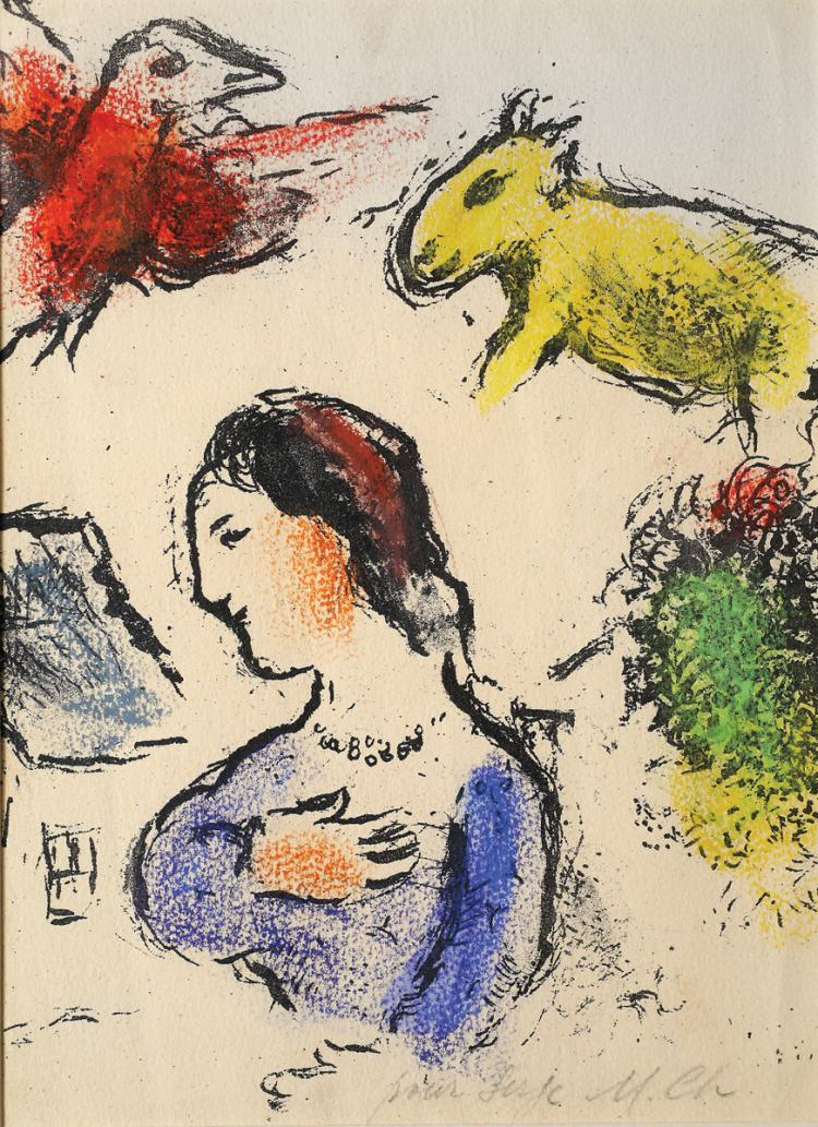 Marc Chagall, 1887-1985, Woman and Animals