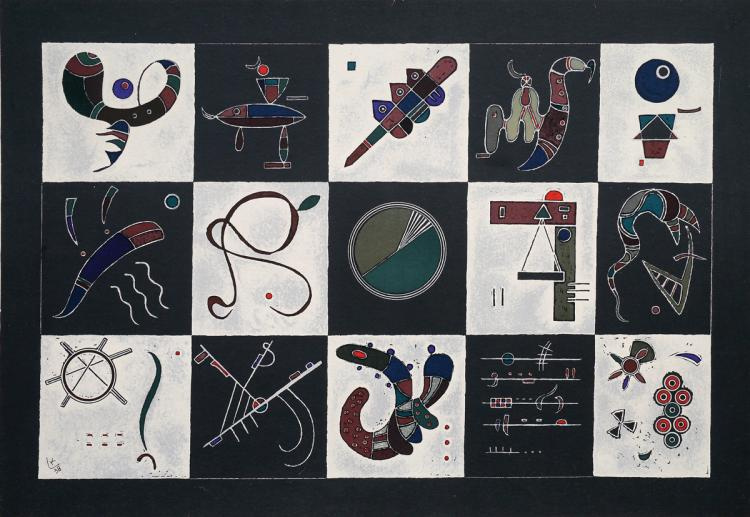 Wassily Kandinsky, 1866-1944, Composition, 1938