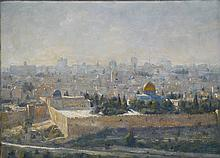 Jerusalem, View from Mount of Olives, 2008