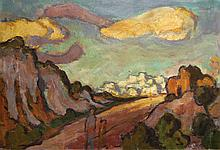 Landscape with Clouds, 1952