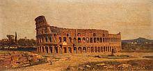 The colosseum in Rome, 1882
