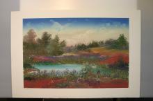 LINDA KALL, Title: Untitled landscape KLS601, Original
