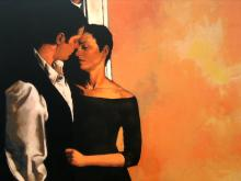 Desire, Serigraph on Board, signed by Joseph Lorusso, Edition of 100.