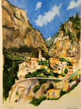 Positano, Italia. By Tony Bennett. Artist signed