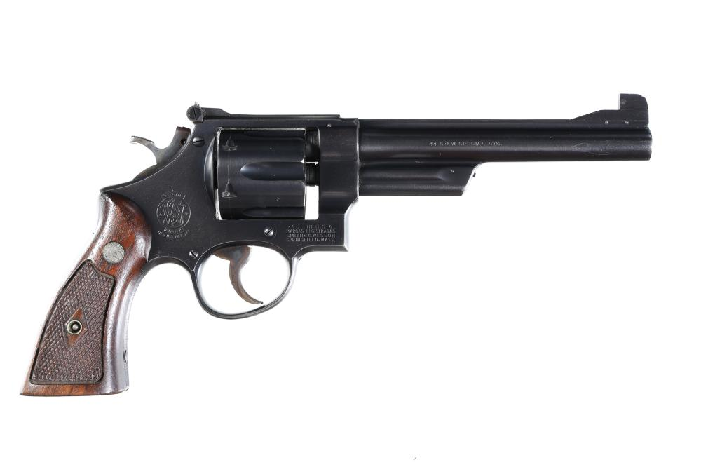 Smith & Wesson 44 Hand Ejector Revolver .44 spl