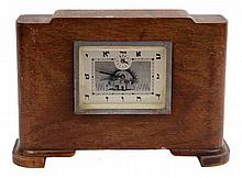Judaica clock with a tzedakah box. Palestine, beginning of the 20th century.