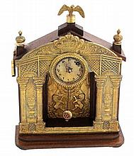 Judaica clock, Palestine, 1950s.