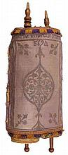 Sefer Torah, written by hand on gvil parchment – Morocco, 19th century.