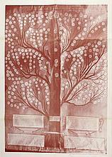 "Printing of the family tree ""Etz HaYachas"" of the HaLevi-Epstein dynasty."