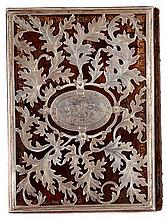 Silver binding made from hand-done cutting work – Germany, 1866.