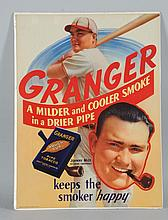 Johnny Mize/Granger Pipe Tobacco Lithograph.