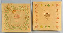Lot of 2: Circa 1900 Coca-Cola Rice Paper Napkins