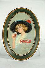 1912 Coca-Cola Tip Tray.