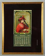 Bright & Beautiful 1908 Coca-Cola Calendar.