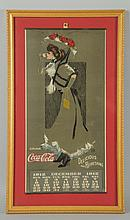Small Version of 1912 Coca-Cola Calendar.