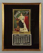 1905 Coca-Cola Framed Calendar.