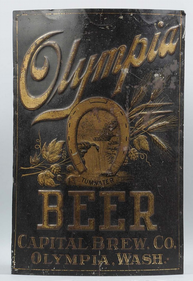 Sign olympia beer images.tinydeal.com: Tinworld