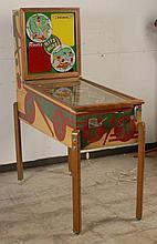 1951 Genco Hits and Runs Pinball Machine.