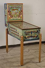 1941 Genco Argentine Pinball Machine.