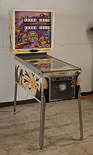 1976 Gottlieb Target Alpha Pinball Machine.