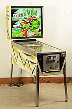 1967 Williams Beat Time Pinball Machine.