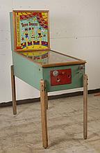 1955 Williams Three Deuces Pinball Machine.