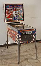 1976 Bally Captain Fantastic Pinball Machine.