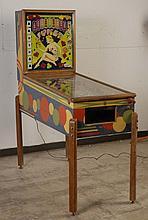 1950 Gottlieb Joker Pinball Machine.