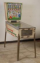 1962 Gottlieb Cover Girl Pinball Machine.