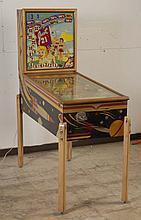 1950 Gottlieb Just 21 Pinball Machine.