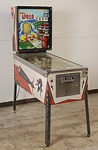 1967 Williams Apollo Pinball Machine.