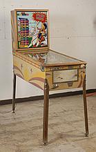 1959 Gottlieb Straight Shooter Pinball Machine.