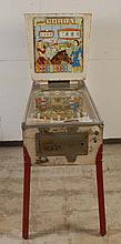 1961 Gottlieb Corral Pinball Machine.