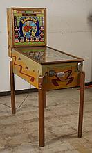 1947 Genco Broncho Pinball Machine.