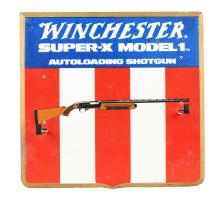 Winchester Super-X Model 1 Autoloading Shotgun Advertising Display.
