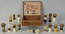 15 Shaving Brushes in Box.