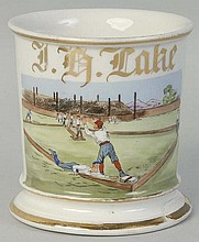 Baseball Player Shaving Mug.