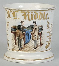 Mens' Clothing Salesman Shaving Mug.