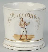 Boxer Shaving Mug.