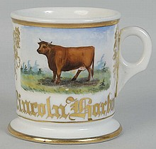 Cow in Field Shaving Mug.