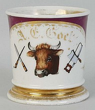 Butchers Shaving Mug.