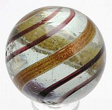 Large Banded Lutz Marble.